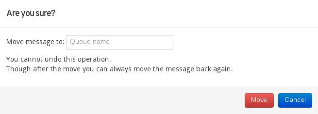 AMQ Console Move Message