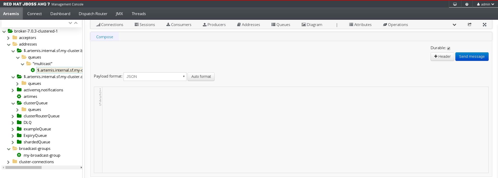 Managing AMQ Broker Red Hat AMQ 7 3   Red Hat Customer Portal