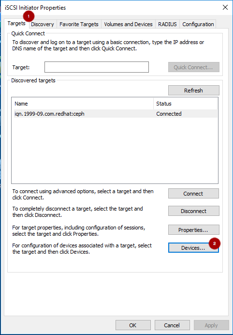 Chapter 8  Using an iSCSI Gateway Red Hat Ceph Storage 3