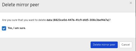 Delete image window