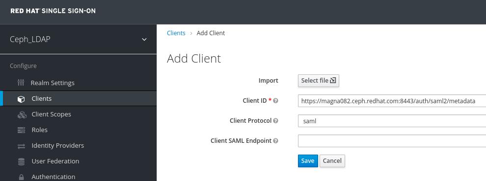 Add client window