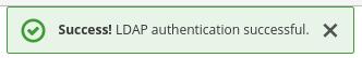 LDAP Test Authentication