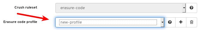 新しい EC プロファイルの選択