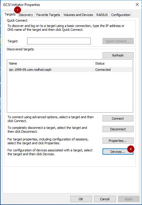 iscsi target tab2 mod
