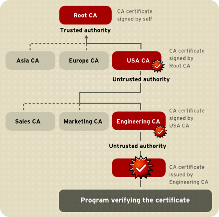 Example of a Certificate Chain