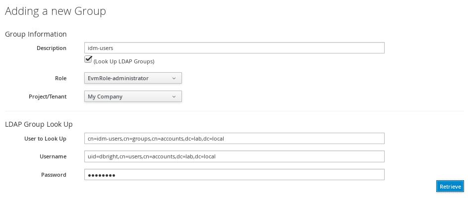 Assign LDAP Roles
