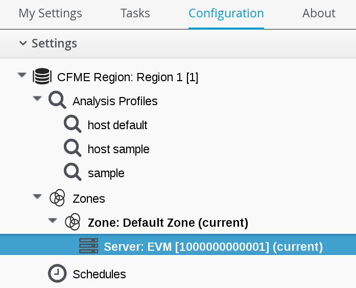 Chapter 4  Configuration Red Hat CloudForms 4 5 | Red Hat