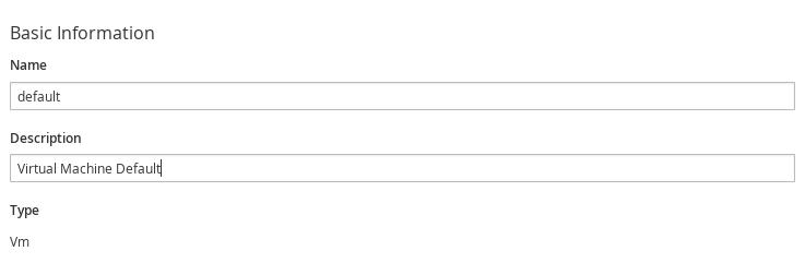 デフォルトの分析プロファイルの設定