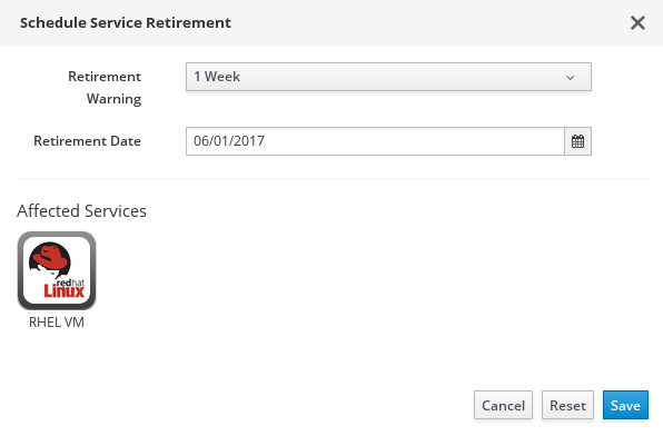 ssui schedule service retirement