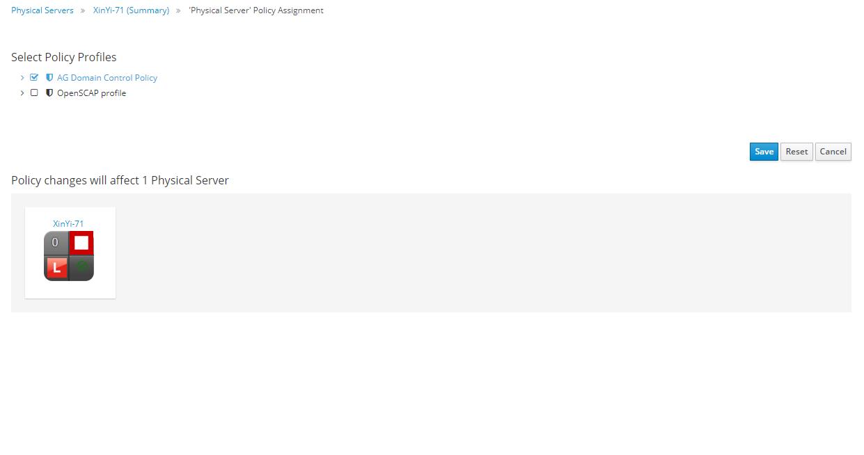 provider assign profile