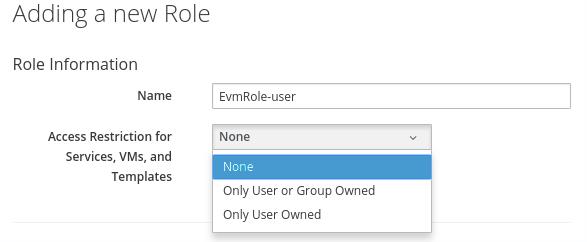 Role info