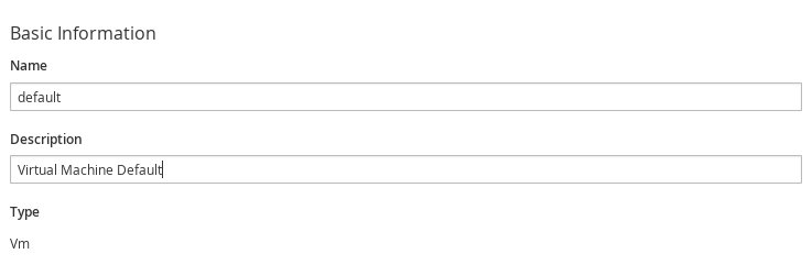 set default analysis profile
