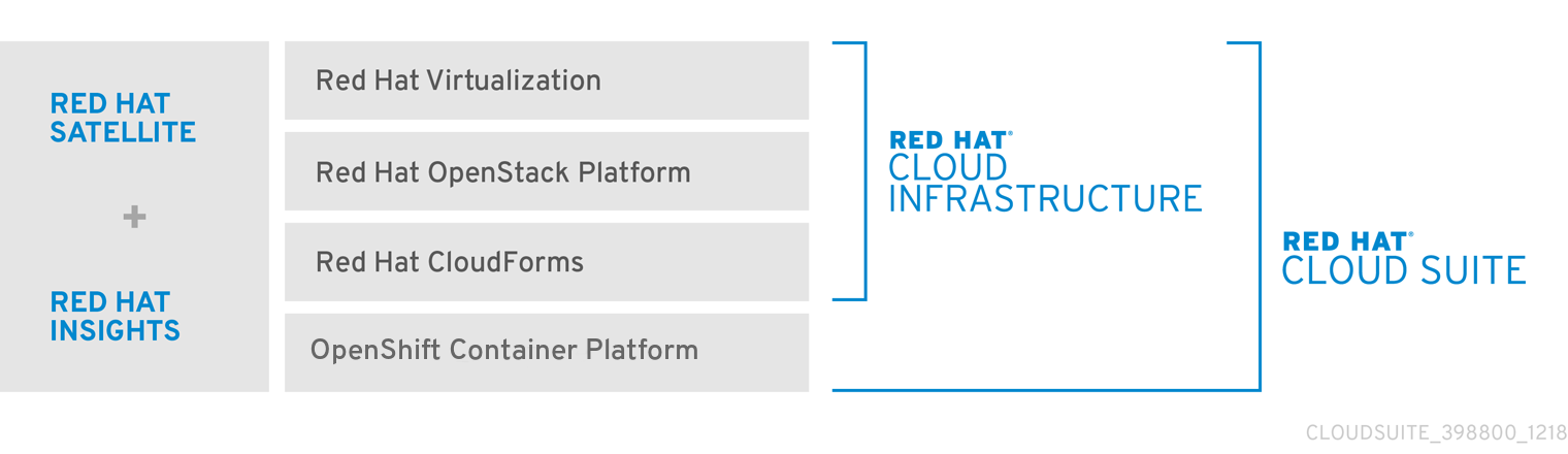 Red Hat Cloud Infrastructure Architecture and Components
