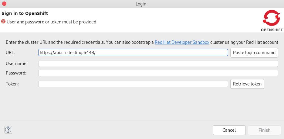 crs bootstrap a developer sandbox cluster