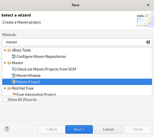 crs wizard maven project