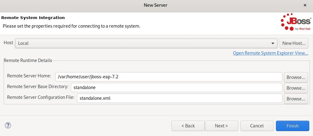 crs remote system integration window