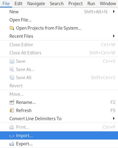 crs file import