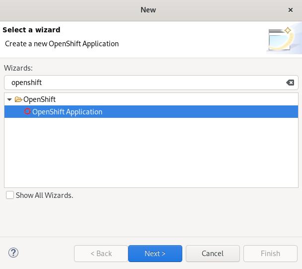 crs openshift app creation