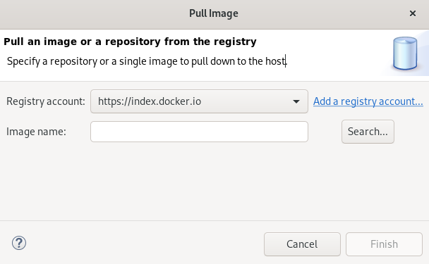 crs docker pull image window