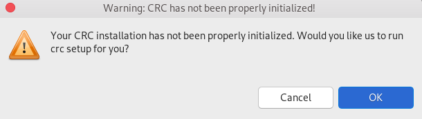 crs crc warning