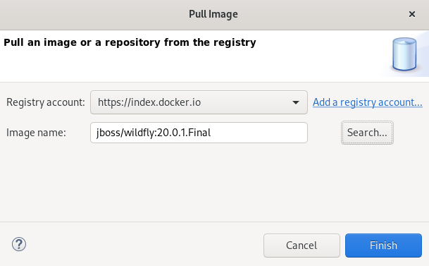crs docker pulling wildfly image2