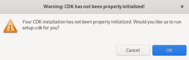 crs cdk warning