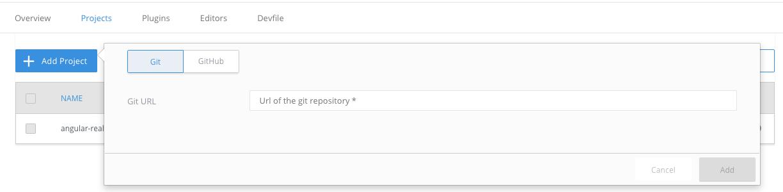 Add Git Project