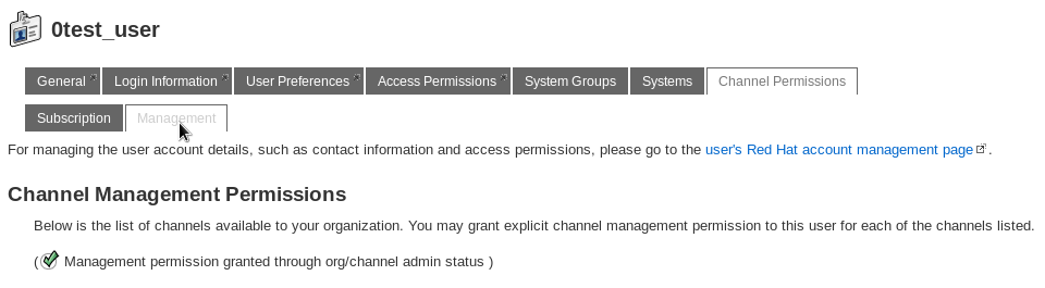 Channel Permissions