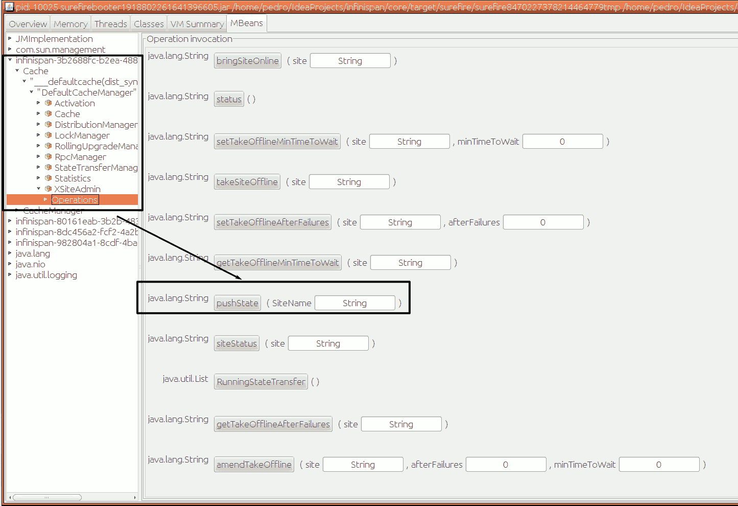 xsite state transfer