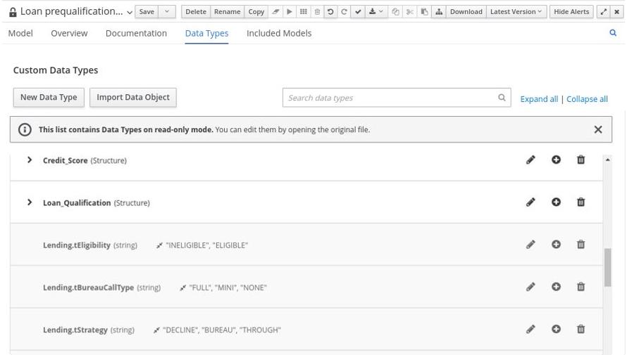 dmn include model data types