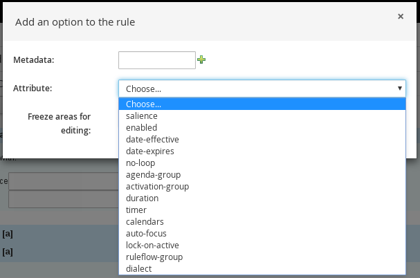 Additional rule options
