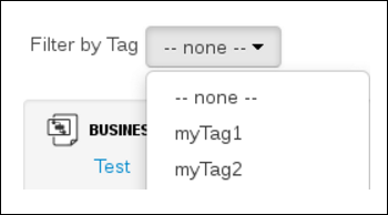 Enable Tag Filtering in Customize View