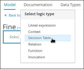 select logic type