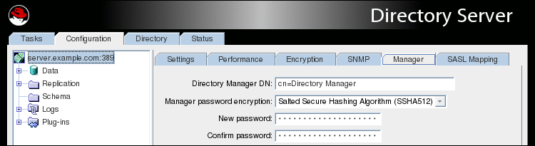 19 6  Managing the Directory Manager Password Red Hat