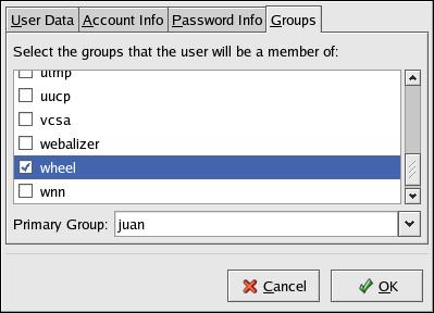 Groups Pane