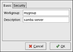 Configuring Basic Server Settings