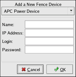 Fence Device Configuration