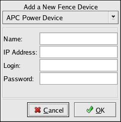 Fence Device Configuration