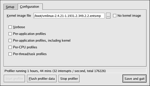OProfile Configuration