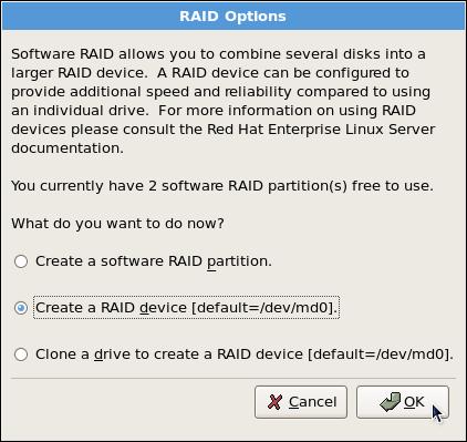 RAID Options