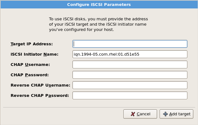 Configure ISCSI Parameters