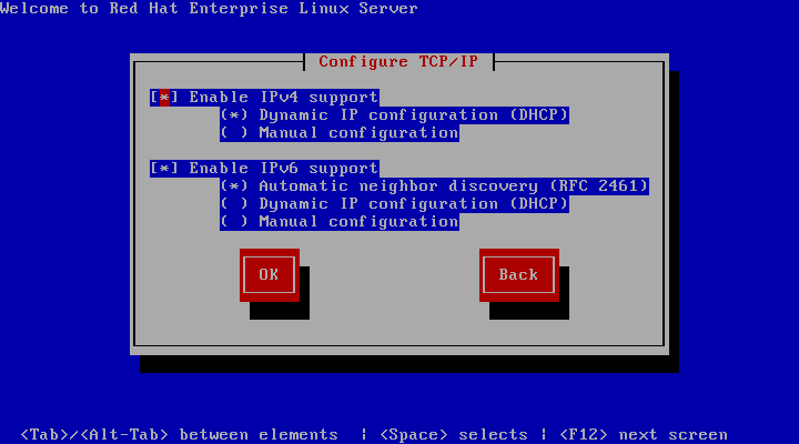 TCP/IP 配置