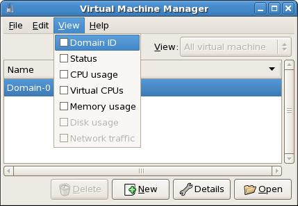 Anzeige von Domain-IDs