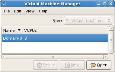 Displaying Virtual CPUs