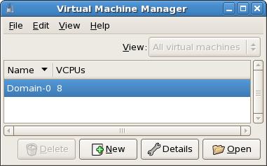 Affichage des CPU virtuels