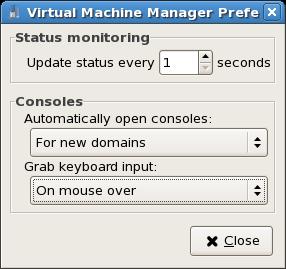 Configuring Status Monitoring