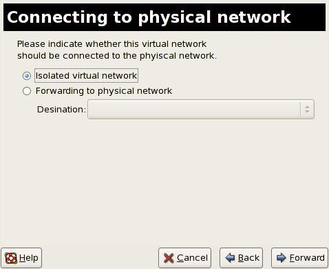 Collegamento alla rete fisica