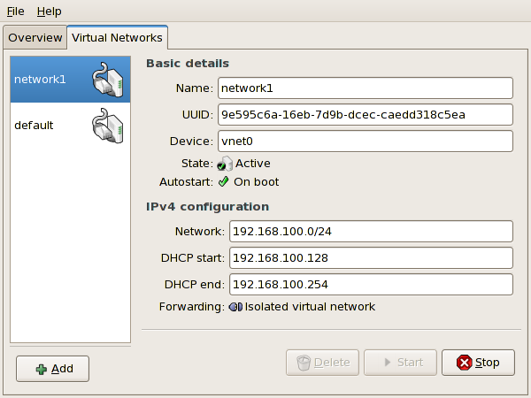 New virtual network is now available