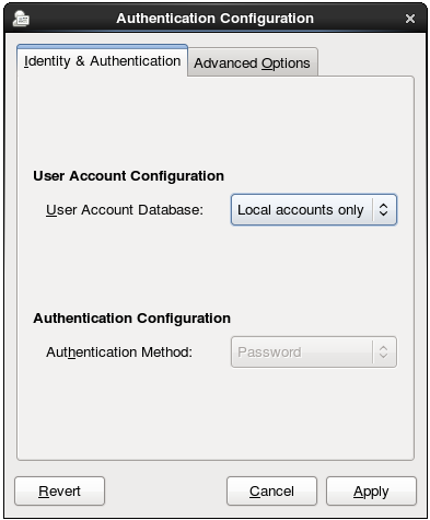 Local Authentication