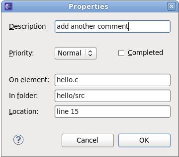 Task Properties